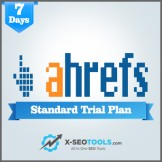 Ahrefs Standard Trial Plan Valid for 7-10 Days Shared Login (Max 3 Users)