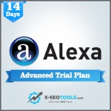 Alexa Advanced Trial Plan Valid for 14 Days [Private Login]