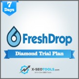 FreshDrop Diamond Trial Plan Valid for 7 Days [Private Login]