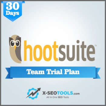 Hootsuite Team Trial Plan Valid for 30 Days [Private Login]