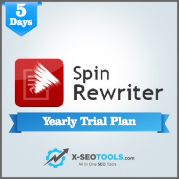 Spin Rewriter Yearly Plan Valid for 5 Days [Private Login]