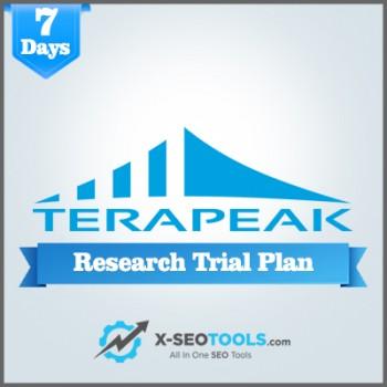 Terapeak Research Trial Plan Valid for 7 Days [Private Login]