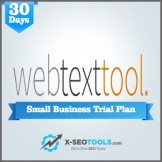Webtexttool Small Business Trial Plan Valid for 30 Days [Private Login]
