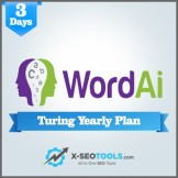 WordAi Turing Yearly Plan Valid for 3 Days [Private Login]
